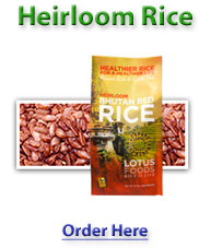 Organic Heirloom Grains & Seeds –  12 Bags Organic Heirloom Rice – Volcano Rice – 15 oz. Each – Retail: $53.88 Now: $38.50